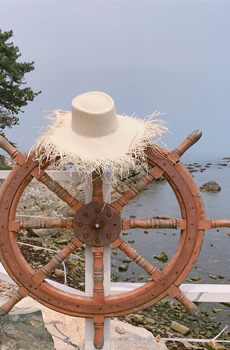 Tuff straw hat