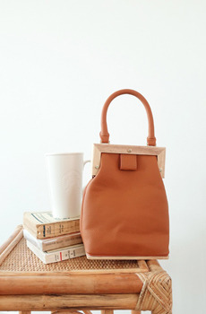 "MA-Wood (bag)""MY ADORABLE BAG"" 우드토트백"