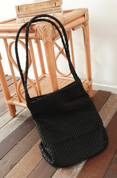 "MA-Weaving (bag)""MY ADORABLE BAG"" 위빙숄더백"