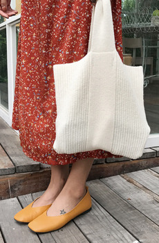 Pretty knit (bag)