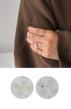 Zem No.193 (ring set)
