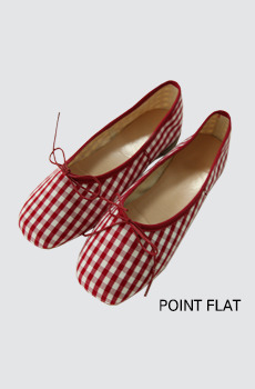 Point-플랫슈즈[size:230~250 / 1color]