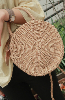 Sunflower rattan (bag)